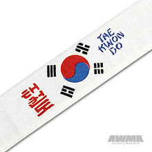 AWMA® Tae Kwon Do with Korean Flag Headband
