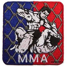 AWMA® Square Cage MMA Patch