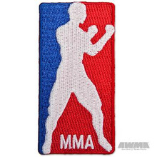AWMA® Red, White & Blue MMA Patch