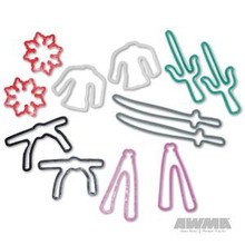 AWMA® Karate Kraze Silly Bands - Shapes #3