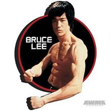 "AWMA® Bruce Lee ""Circle"" Magnet"