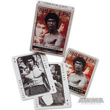 """AWMA® Bruce Lee """"Affirmations"""" Playing Cards"""