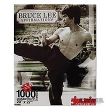 """AWMA® Bruce Lee """"Affirmations"""" Jigsaw Puzzle"""