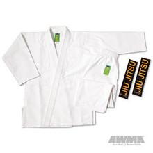 "AWMA® ProForce® Gladiator ""Pearl"" Jiu-Jitsu Uniform - White (Kid's Sizes)"