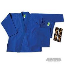 "AWMA® ProForce® Gladiator ""Pearl"" Jiu-Jitsu Uniform - Blue (Adult Sizes)"