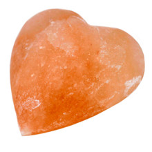 Himalayan Salt Heart Shaped Deodorant Stone - Natural - 7cm