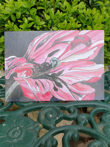 Pink Tulip Cards by Sarah Cameron - Blank Inside - Choice of Pack Sizes