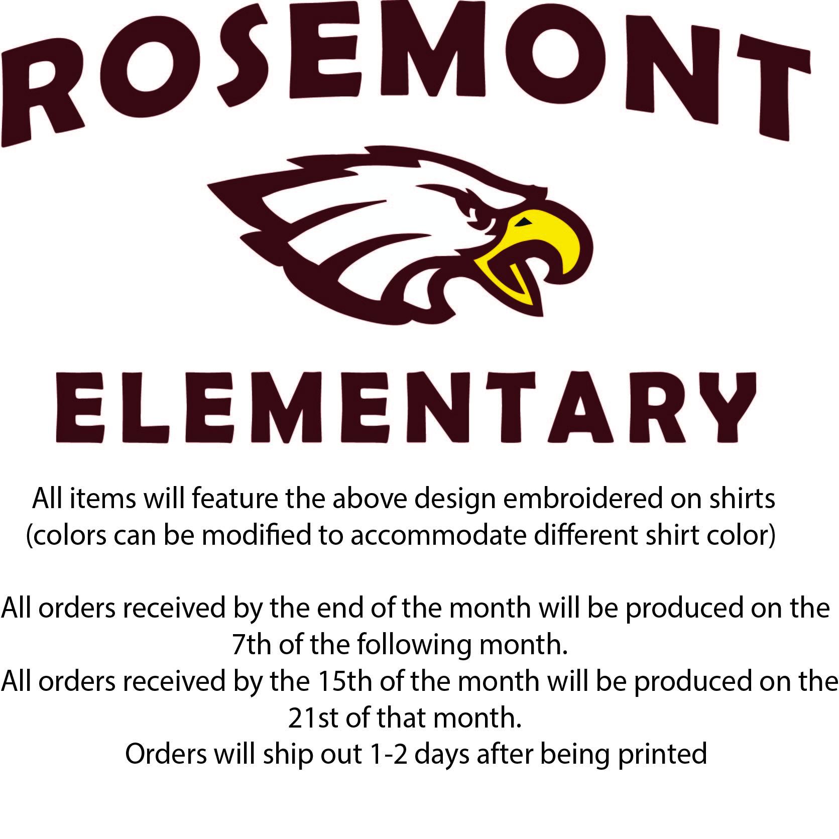 aed8b3b2 My Elementary School - Rosemont Elementary School - spirit wear