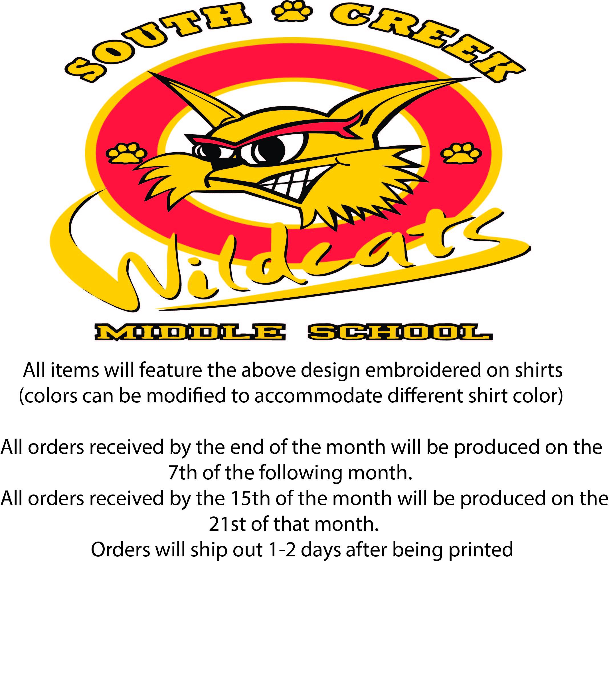3275f400 My Middle School - South Creek Middle School - spirit wear