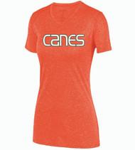 Hurricanes Baseball Ladies Kinergy Dri-Fit T-Shirt