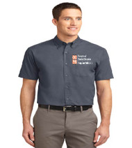 OCPS ESE Men's Short Sleeve Button-up