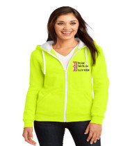 OCPS ESE Ladies Zip-Up Hooded Sweatshirt