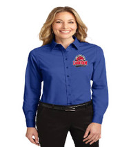 Lake Gem Ladies Long Sleeve Button-up