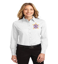 Millennia Ladies Long Sleeve Button-up