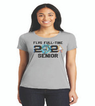 Fla Virtual Seniors Ladies Soft Touch T-Shirt