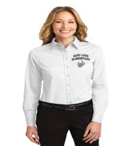 Sand Lake Ladies Long Sleeve Button-up
