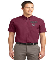 Sand Lake Men's Short Sleeve Button-up