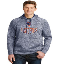 Dust Devils Polyester Heather Hoodie