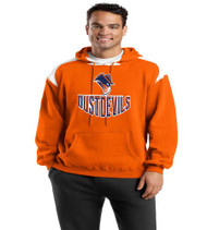 Dust Devils  Color Block Hoodie