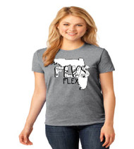 Fla Virtual Ladies Flex T-Shirt