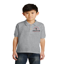 2019 Biscayne Elementary Embroidery Uniform Polo - Grey