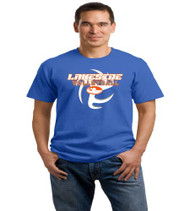Lakeside Volleyball Men's Royal Blue T-Shirt