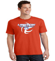 Lakeside Volleyball Men's Orange T-Shirt