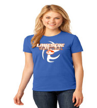 Lakeside Volleyball Ladies Royal Blue T-Shirt