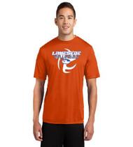Lakeside Volleyball Men's Orange Dri-Fit T-Shirt