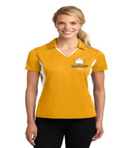 College Park Ladies Color Block Polo