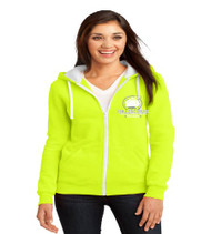 College Park Ladies Zip-Up Hooded Sweatshirt