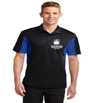 College Park Men's Color Block Dri-Fit Polo