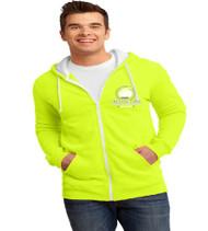 College Park Men's Zip-Up Hooded Sweatshirt