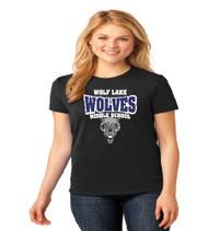 Wolf Lake Ladies Spirit T-Shirt