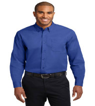 Premier Water Men's Long Sleeve Button-up