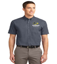 Riverside Men's Short Sleeve Button-up
