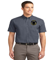 OGA Men's Short Sleeve Button-up