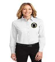 OGA Ladies Long Sleeve Button-up