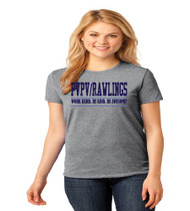 PVPV Rawlings Grey Ladies Soft Cotton T-Shirt