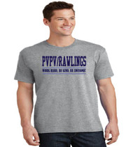 PVPV Rawlings Grey Men's Soft Cotton T-Shirt
