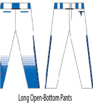 Titans Baseball Open-Bottom Pants  (Close-out)
