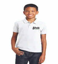 Pinedale Elementary Uniform Polo - White