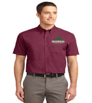 Pinewood Men's Short Sleeve Button-up