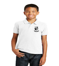 Brentwood Elementary Uniform Polo - White