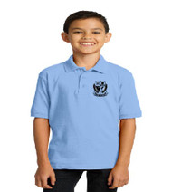 Brentwood Elementary Uniform Polo - Light Blue