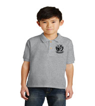 Brentwood Elementary Uniform Polo - Grey