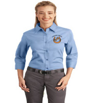 Chaffee Trail Ladies 3/4 Sleeve Button-Up