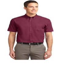 Maxey Men's Short Sleeve Button-up