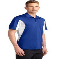 Maxey Men's Color Block Dri-Fit Polo