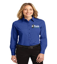 Pinedale Ladies Long Sleeve Button-up